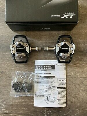 Shimano Deore XT Bicycle pedals pd m785 Brand New In Box