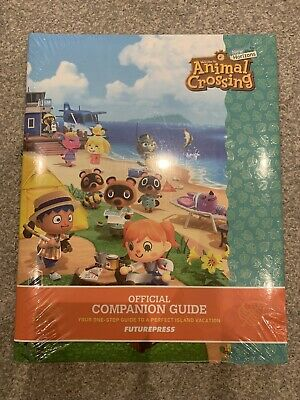 Animal Crossing New Horizons Companion Strategy Collector's Guide *NEW & SEALED