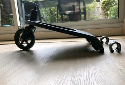 Bugaboo wheeled board buggy cameleon and frog with adapters and elastic cord 001