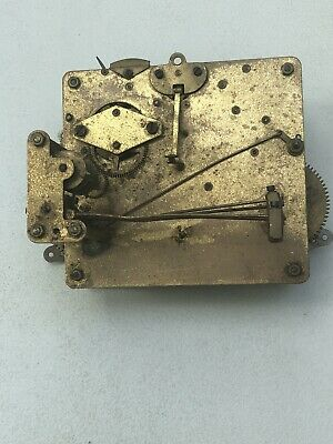 Westminster Clock Movement Dial Spares Repairs Brass (NM)5 Hammers