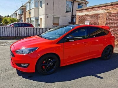 2016 Ford Focus Zetec S Red Edition
