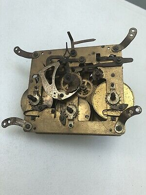 Westminster Clock Movement Dial Spares Repairs Brass (LN)5 Hammers