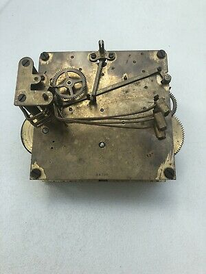 Westminster Clock Movement Dial Spares Repairs Brass (Q)5 Hammers