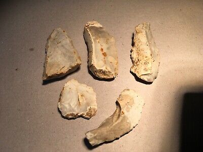 Neolithic Worked Flint Group.x5.prehistoric