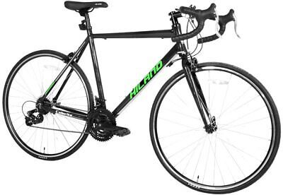 Hiland 700c Road Bike Aluminum City Commuter Bicycle with 21 Speeds Drive Train