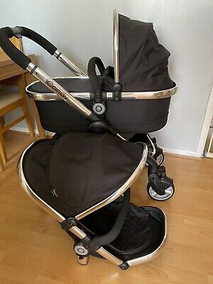 iCandy Peach 2 Black Magic Standard Single Seat Stroller Travel System