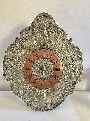 Antique Very Rare Large Size Zapper Pendulum Clock Verge Escapement C1790!