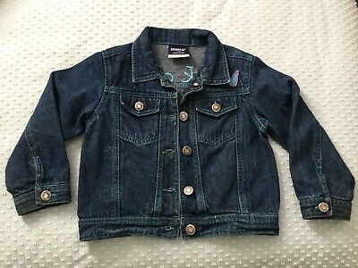 Girls Denim Co Jacket Rock Chic Bead Motif Age 3-4 Years