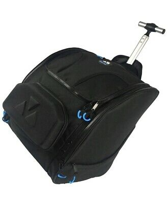 BoundR Condition Ski Boot Bag Backpack With Wheels - Premium Rolling Travel Back