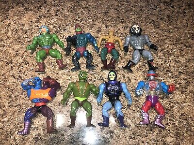 HE-MAN MASTERS OF THE UNIVERSE MOTU - VINTAGE 1980's MATTEL ACTION FIGURE LOT