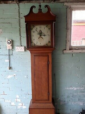 Longcase Grandfather clock.