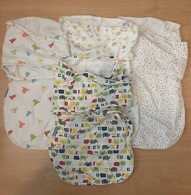 4pc Gro Bag Light Swaddle Summer