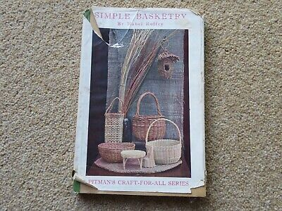 Antique book on Simple Basketry by Mabel Roffey. Pitman's series