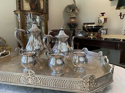5pc Fisher Sterling Silver Tea - Coffee Set 2326........46 Ounces