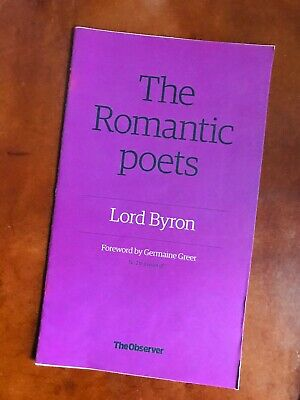 The Romantic Poets Lord Byron No.2 - The Observer Mini Mag Collectible FREE P&P