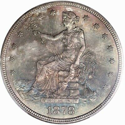 1878-S T$1 Trade Dollar PCGS MS66+ CAC
