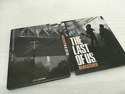 The Last of Us Remastered Steelbook [FantasyBox Custom Case] [NO GAME] [PS4]