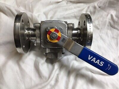VAAS , CF8M, DN25/33.7, PN16 , 316L Stainless Ball Valve , Unused , Old Stock