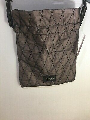Victorias Secret Bra / Panty Lingerie Mesh Satin Lined Travel Bag Drawstring NWT