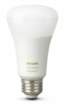 Philips Hue White Ambience A19 2000 - 6500 K Warm to cool E26 - NEW SEALED!