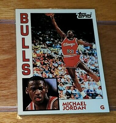 Topps Archives 1993 Michael Jordan Rookie RC Retro 1984 #52 Chicago Bulls
