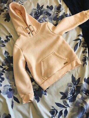Girls 3-4 Years Pink Firetrap Hoody New Without Tags