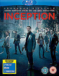 Inception (Blu-ray and DVD Combo, 2010, 3-Disc Set, Blu-ray And DVD)