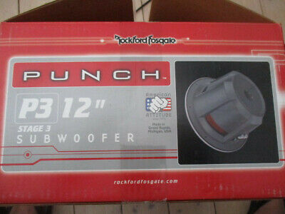 Rockford Punch P3 Stage 3 Subwoofer