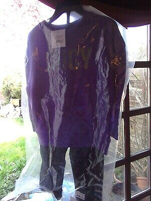 Girls Juicy Couture Purple Sweat Top & Joggers 3 Years