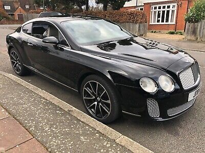2005 Bentley Continental Gt 6.0 W12 **Huge History File** Supersport Bumpers