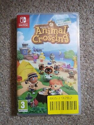 Animal crossing new horizons switch game brand new and sealed