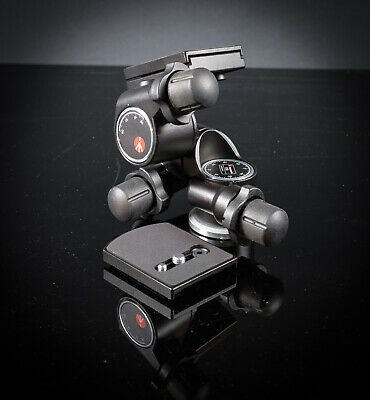 Manfrotto 410 Junior geared head with spare camera plate