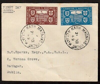 Ireland 1949 First Day Cover With Rathmines Postmarks