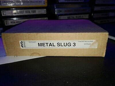 Metal Slug 3 Mvs Kit Not Matching 100% Original