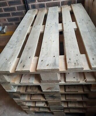 Second hand wooden euro pallets 800mm x1200mm