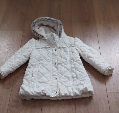 Marks And Spencers Autograph Winter Girls Jacket   Age 4-5