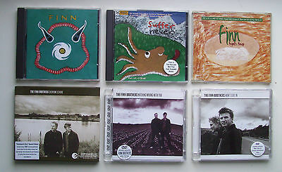 6x Finn Brothers CDs [2x Albums, 2x CD Singles, 2x DVD Singles] Crowded House