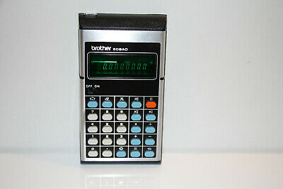 Calculatrice BROTHER Electronic 508AD Vintage