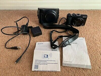 Sony Cybershot DSC-HX60V 20.4MP Digital Camera - Black - FREE P+P