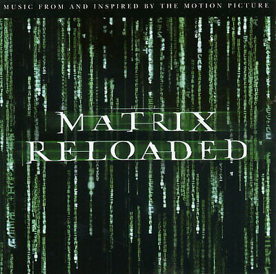 The MATRIX RELOADED : The Album - DOUBLE CD / 6p. BOOKLET - 2003