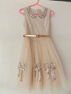 Next pretty party dress aged 5 Years