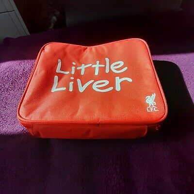 Liverpool FC Little Liver Childrens Lunch Bag, Mini Football and book.