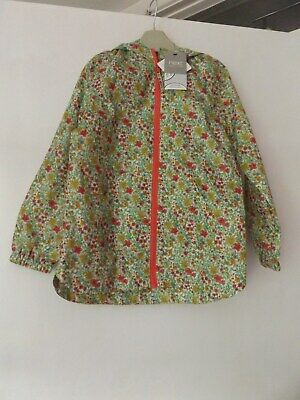 Next hooded shower resistant jacket/coat new with tags aged 5-6 Years