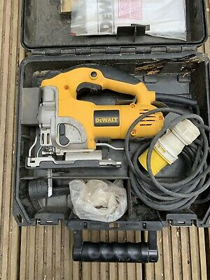 Dewalt dw331 jigsaw 110v in case