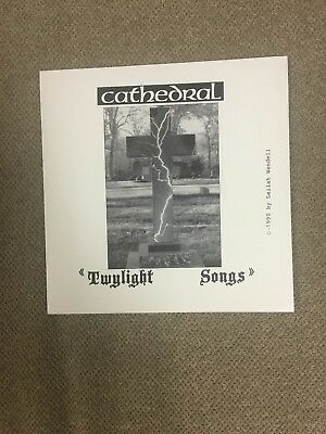 Cathedral 45 Promo Record. 1990! Earache Records. Purple Vinyl. Never Played!