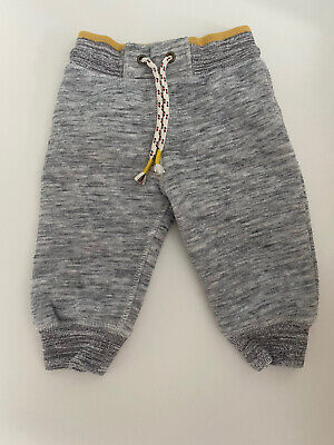 Next 6-9 Month Cosy Fleecy Joggers Jogging Bottoms Trousers