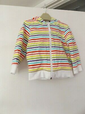 Next stripped star hooded jacket aged 2-3 Years
