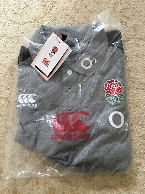England Rugby Player Issue  Polo Shirt Brand New BNWT Size Large