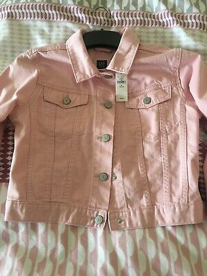 GAP Girls Pink Denim Jacket BRAND NEW WITH TAGS Size XL (152-158)