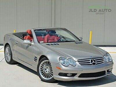 2003 Mercedes-Benz SL-Class SL55 AMG! Pewter/Red! 25K Miles! 2003 Mercedes-Benz SL55 AMG! Rare Pewter/Red! 25K Miles! Investment Quality!